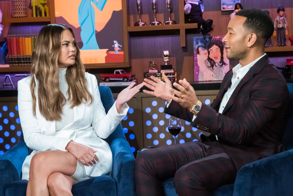 Picture of Chrissy Teigen John Legend Pizza Rolls