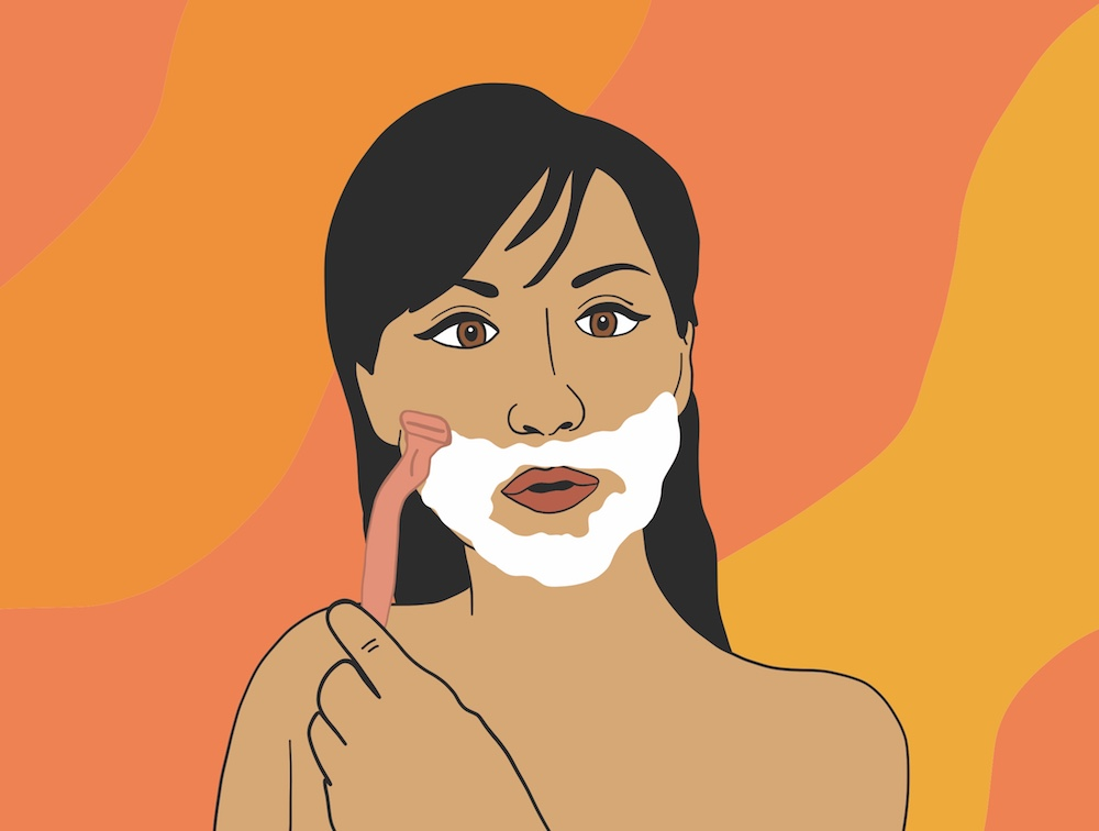faceshaving