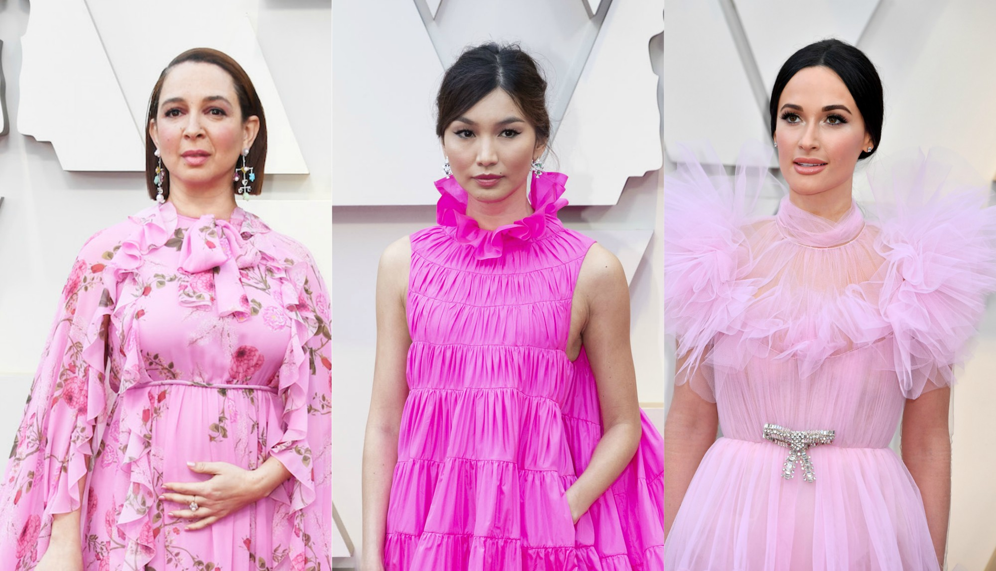 Hot Pink Oscars Trend