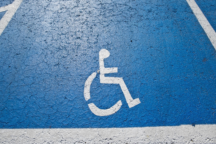 Logo for disability