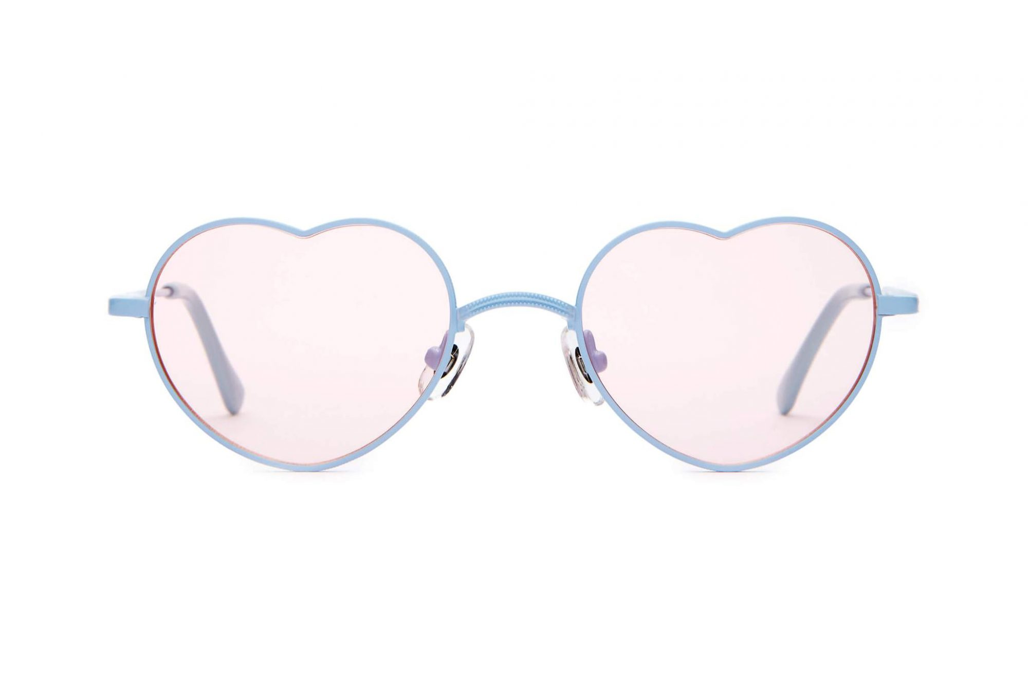Crap_Eyewear-The_Doctor_Love-Powder_Light_Blue_Stainless_Steel_Light_Blue_Acetate_Small_Heart_Shape_Wire_Metal_Sunglasses-Pink_Tint_Lens