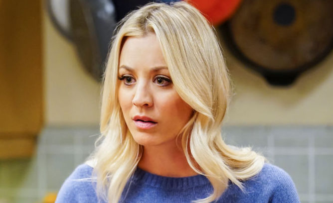 """LOS ANGELES - OCTOBER 24: """"The Tesla Recoil"""" -- Pictured: Penny (Kaley Cuoco). Leonard and Wolowitz are furious after they learn Sheldon went to work with the military behind their backs. Also, while Bernadette is on bed rest, she asks Raj to do some digging when she suspects Ruchi is trying to steal her job, on THE BIG BANG THEORY, Thursday, Nov. 16 (8:00-8:31 PM, ET/PT) on the CBS Television Network."""