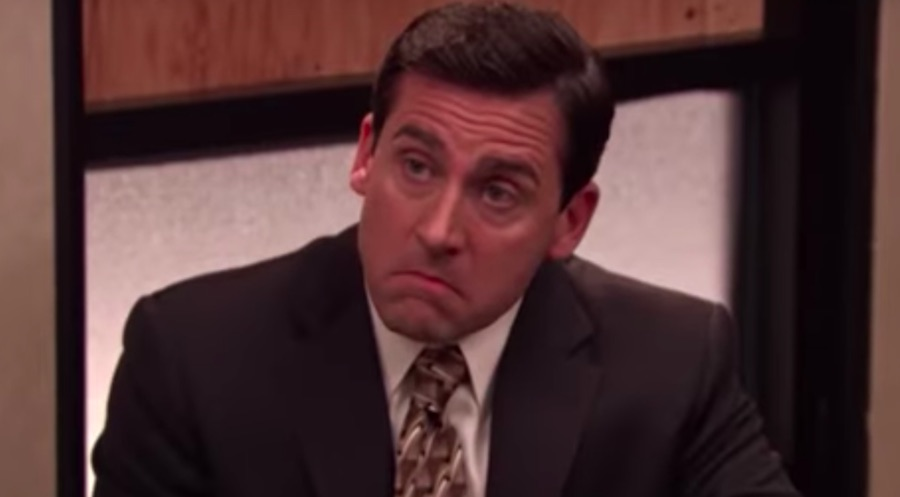 Michael Scott in Stress Relief episode of The Office
