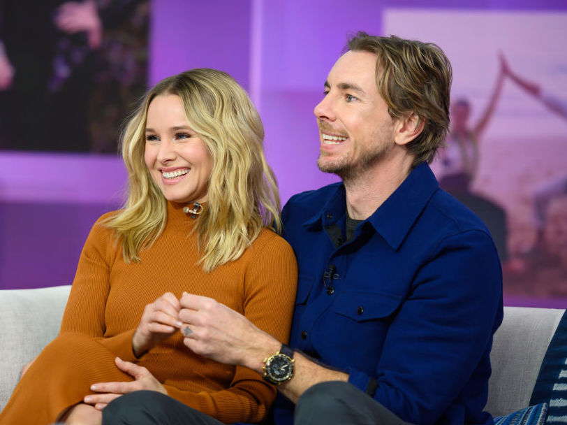 TODAY -- Pictured: Kristen Bell and Dax Shepard on Monday, February 25, 2019 --