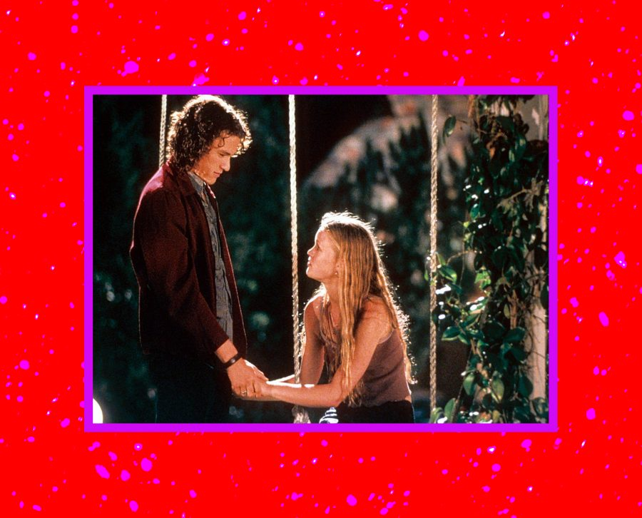 Kat and Patrick from 10 Things I Hate About You