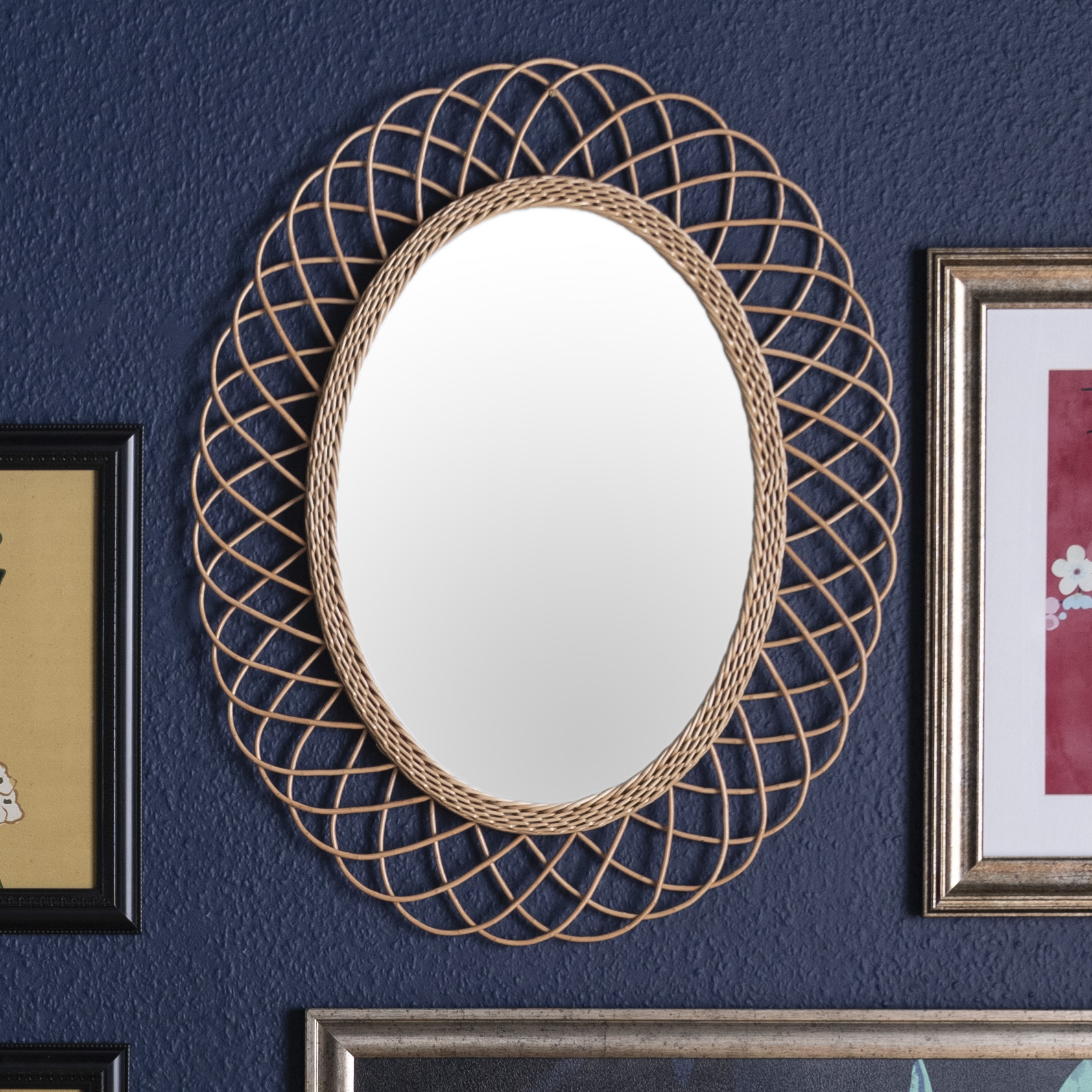 drew barrymore flower home mirror