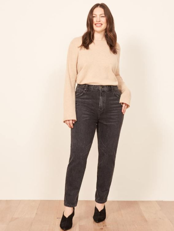 Reformation Extended Sizes Julia Crop High Cigarette