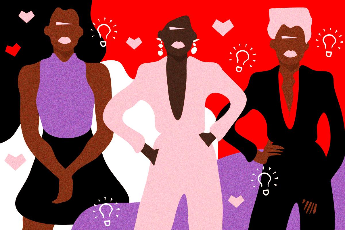 illustration of black women healers
