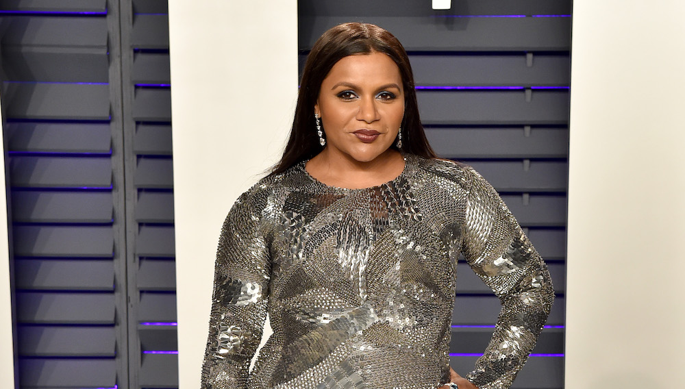 BEVERLY HILLS, CALIFORNIA - FEBRUARY 24: Mindy Kaling attends the 2019 Vanity Fair Oscar Party Hosted By Radhika Jones at Wallis Annenberg Center for the Performing Arts on February 24, 2019 in Beverly Hills, California
