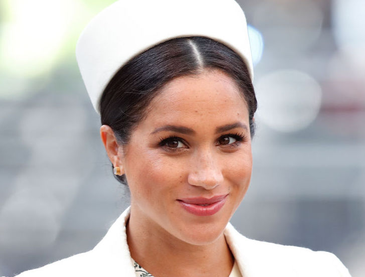 LONDON, UNITED KINGDOM - MARCH 11: (EMBARGOED FOR PUBLICATION IN UK NEWSPAPERS UNTIL 24 HOURS AFTER CREATE DATE AND TIME) Meghan, Duchess of Sussex attends the 2019 Commonwealth Day service at Westminster Abbey on March 11, 2019 in London, England.