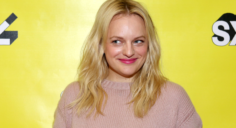 speaks onstage at Featured Session: Elisabeth Moss with Brandi Carlile during the 2019 SXSW Conference and Festivals at Austin Convention Center on March 10, 2019 in Austin, Texas.