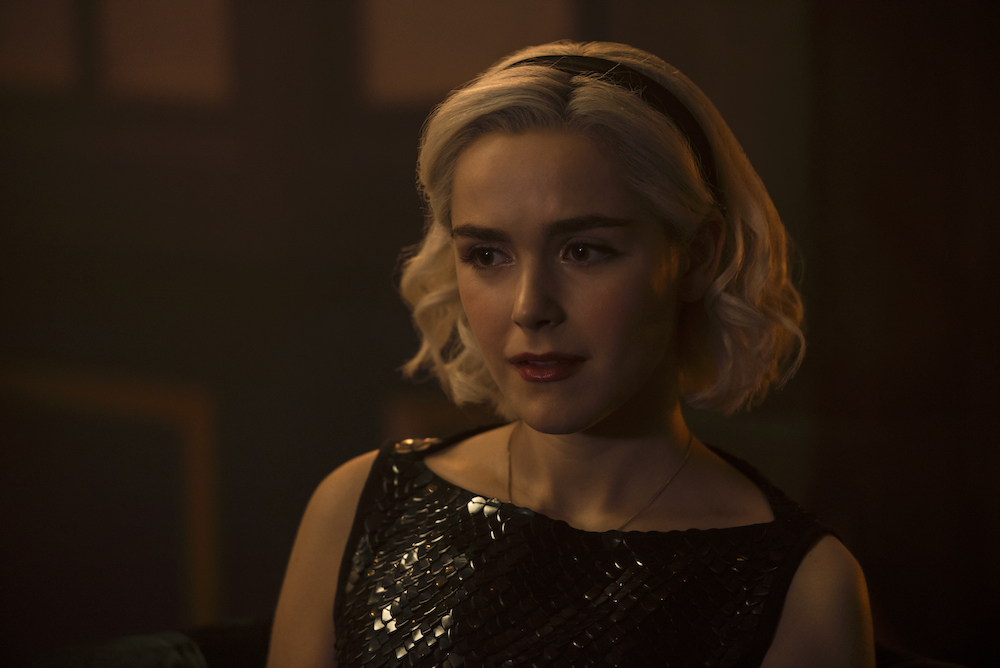 Sabrina on Chilling Adventures of Sabrina