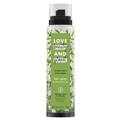 Love Beauty & Planet Coconut Milk & Jasmine Medium Hold & Volume Hair Spray