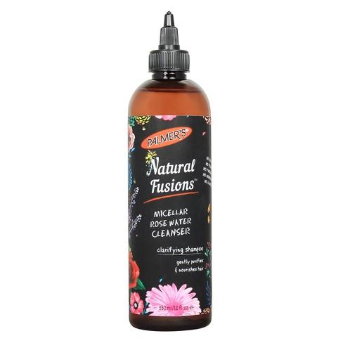 Palmer's Natural Fusions Micellar Rose Water Cleanser Clarifying Shampoo