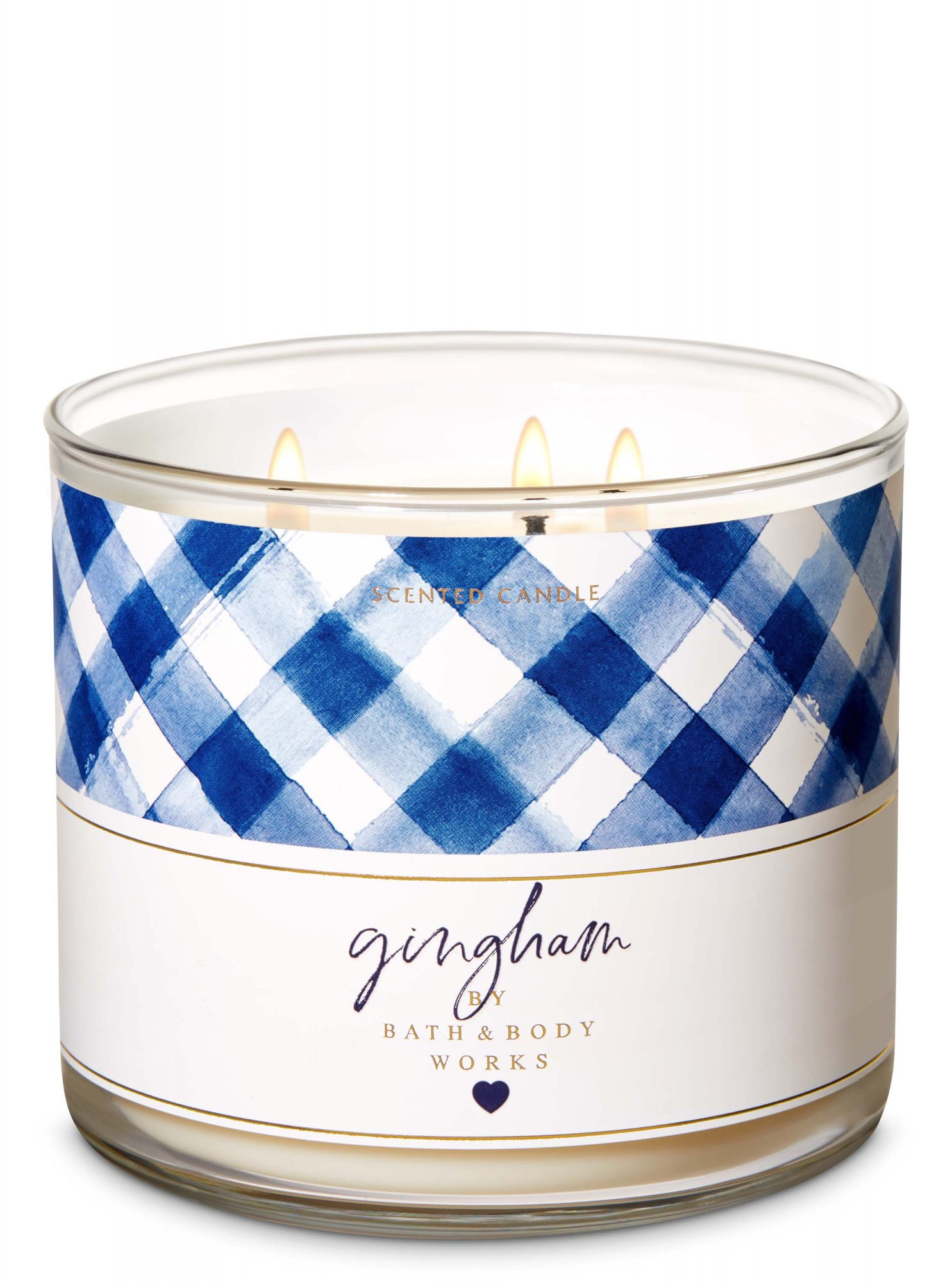 Bath and Body Works Gingham