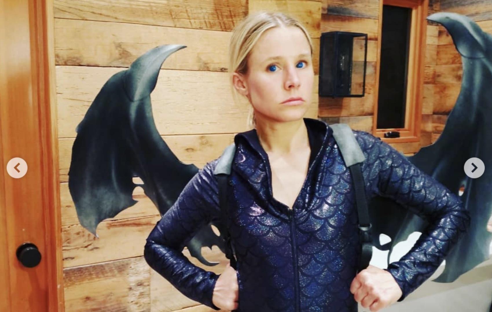 Kristen Bell in Game of Thrones costume