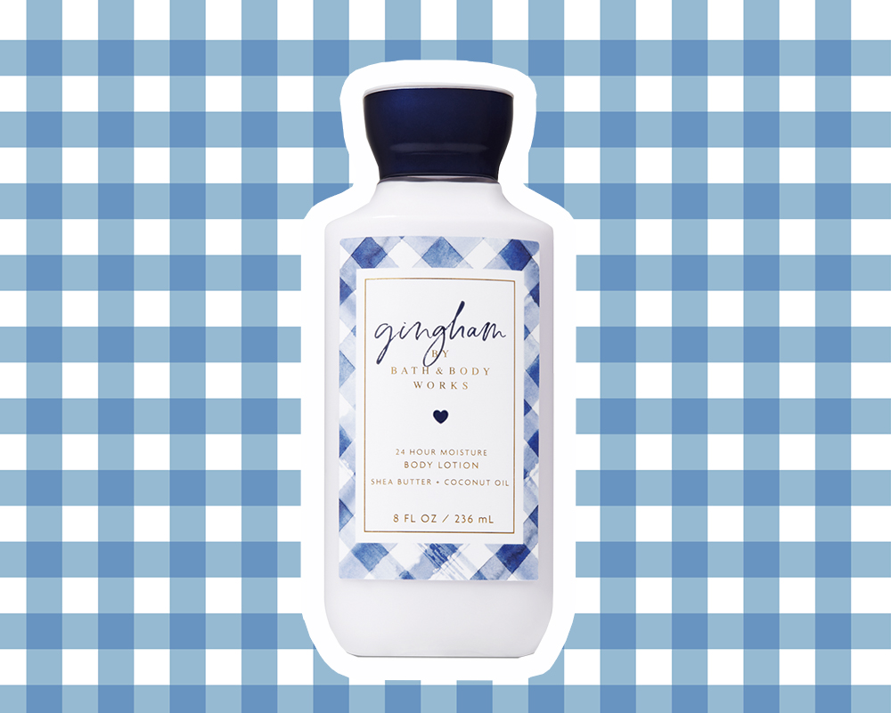 Bath & Body Works Gingham