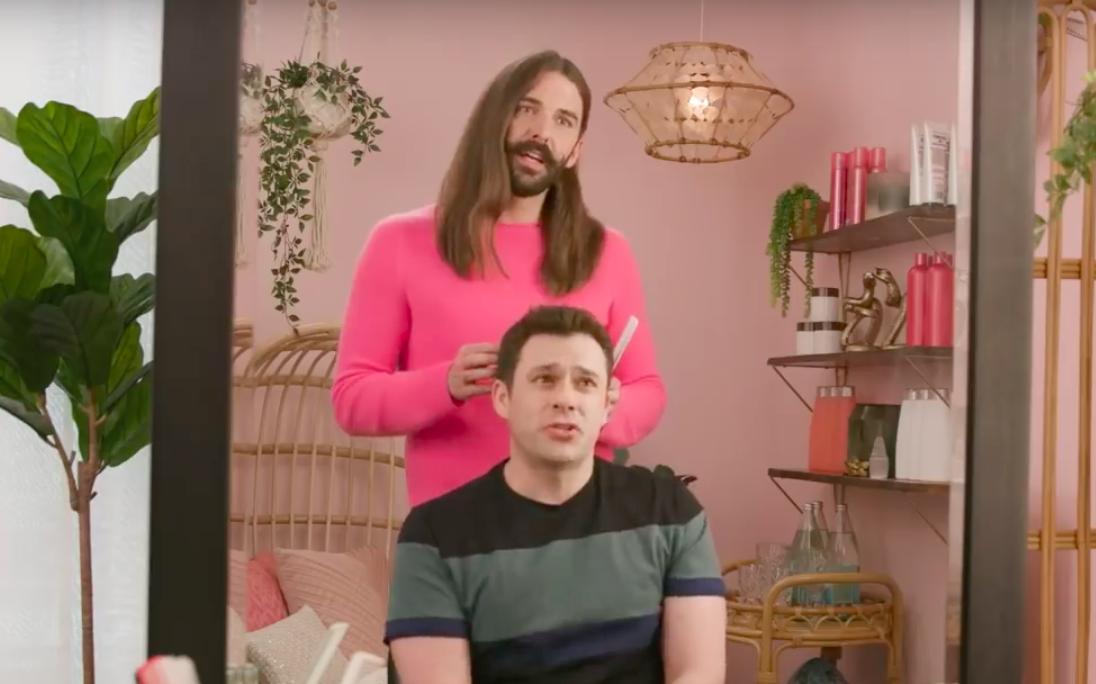 Jonathan Van Ness hairstylist Gay of Thrones