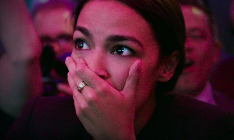 Alexandria Ocasio-Cortez in Netflix doc Knock Down The House