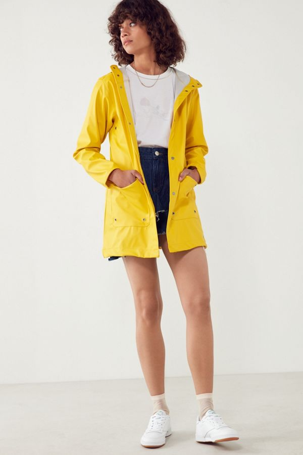 yellow forecast raincoat