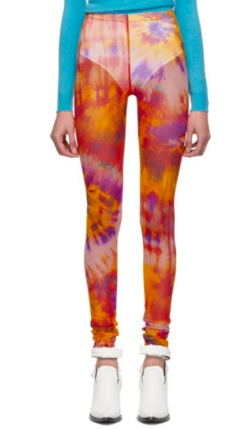 MSGM tie-dye leggings