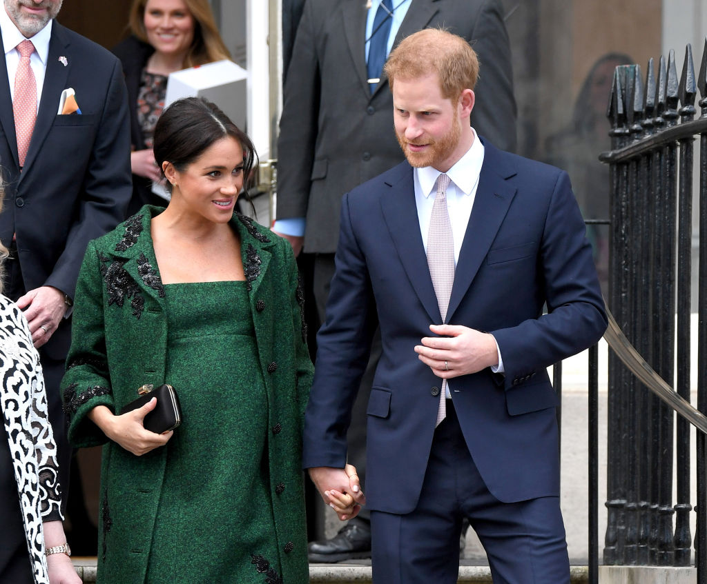 Picture of Harry Meghan Lifetime Movie