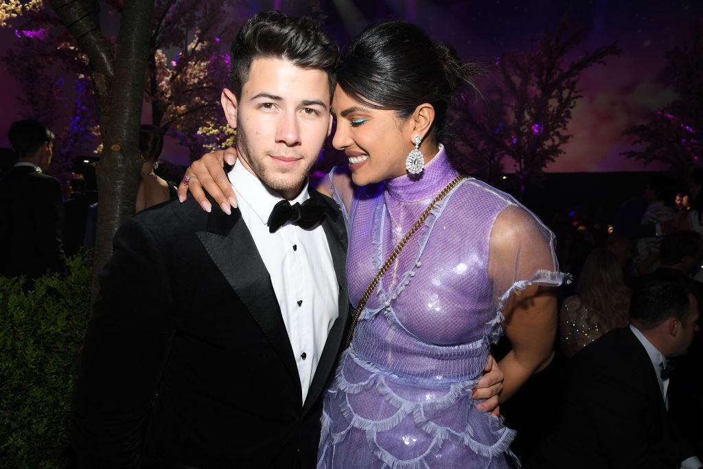 Picture of Nick Jonas Priyanka Chopra First Date Anniversary Tribute