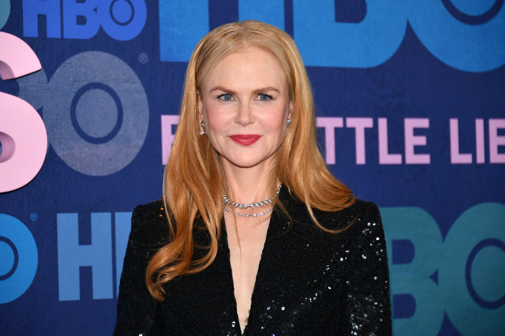 Nicole Kidman on the red carpet of the Big Little Lies premiere