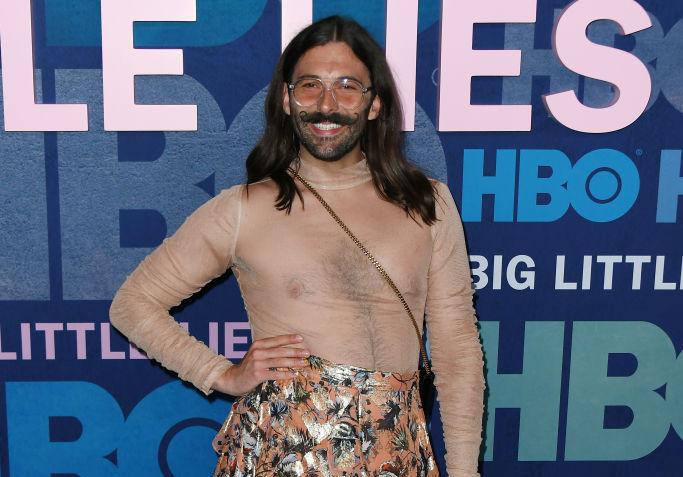 "Jonathan Van Ness attends the season 2 premiere of ""Big Little Lies"""