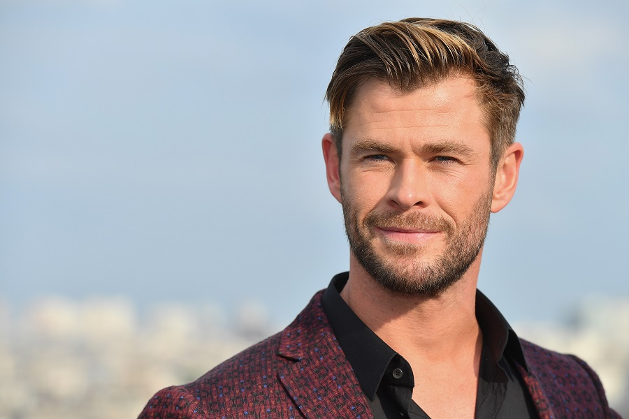 Chris Hemsworth at the men in black photocall