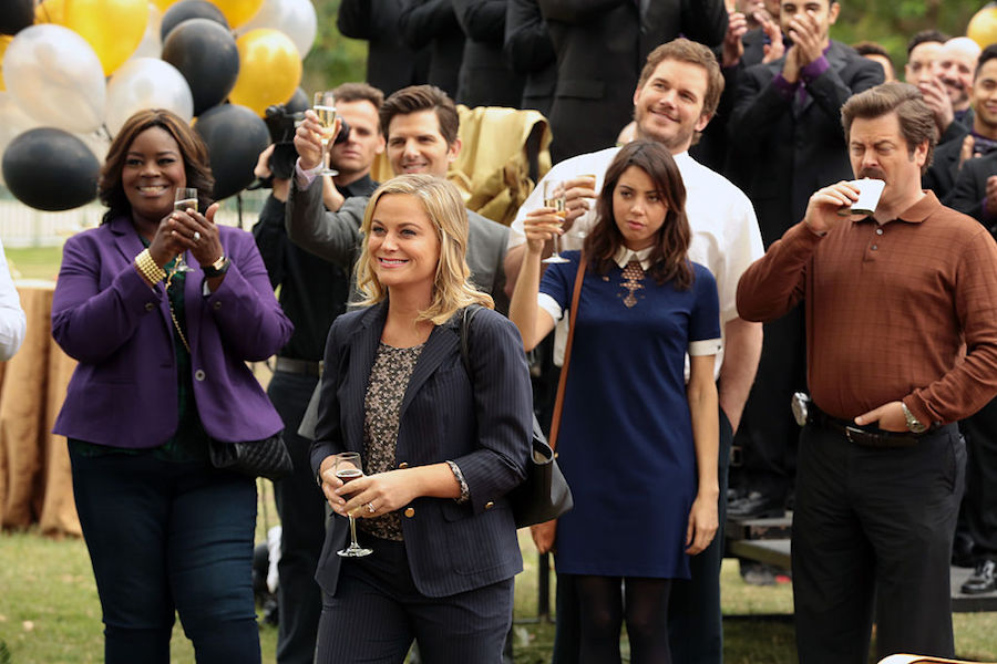 "Cast of ""Parks and Recreation"""