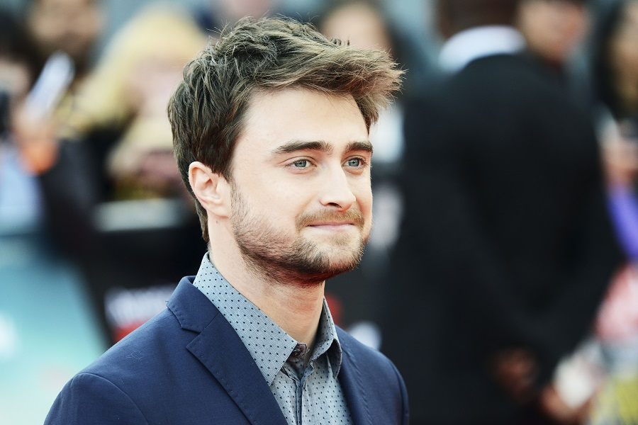 Daniel Radcliffe on the red carpet