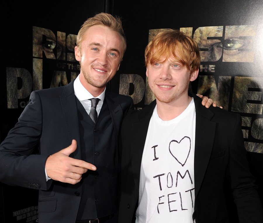 tom felton and rupert grint red carpet