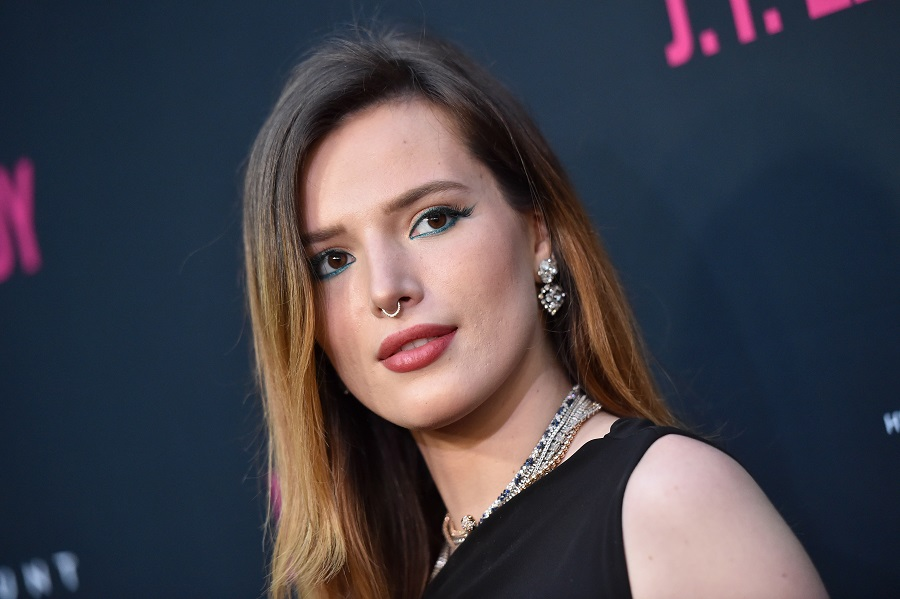 Bella Thorne on the red carpet