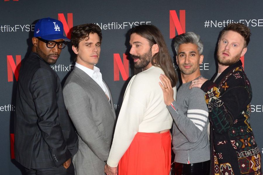 Queer Eye Fab Five at Netflix event