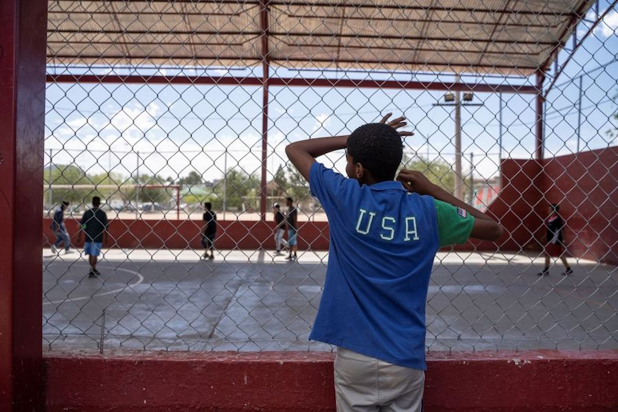 "Child detained at ""migrant shelter"" who fled violence in Central America"