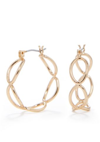 Kim Rogers hoop earrings
