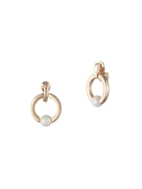 Ralph Lauren hoop earrings