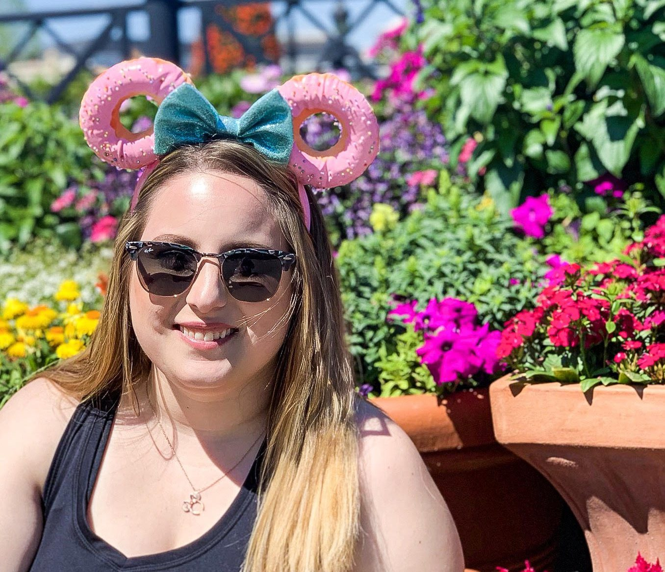 woman on a solo disney vacation