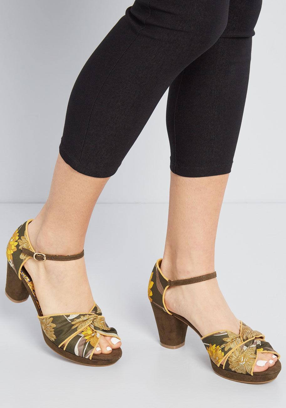 Ruby Shoo platform sandal