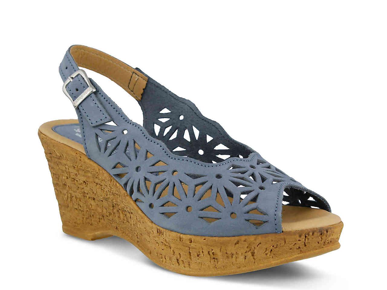 Spring Step Platform Sandal