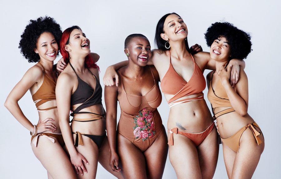 women in swimsuits