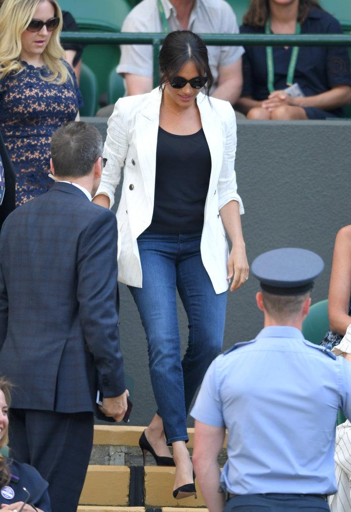 Meghan Markle Wimbledon jeans