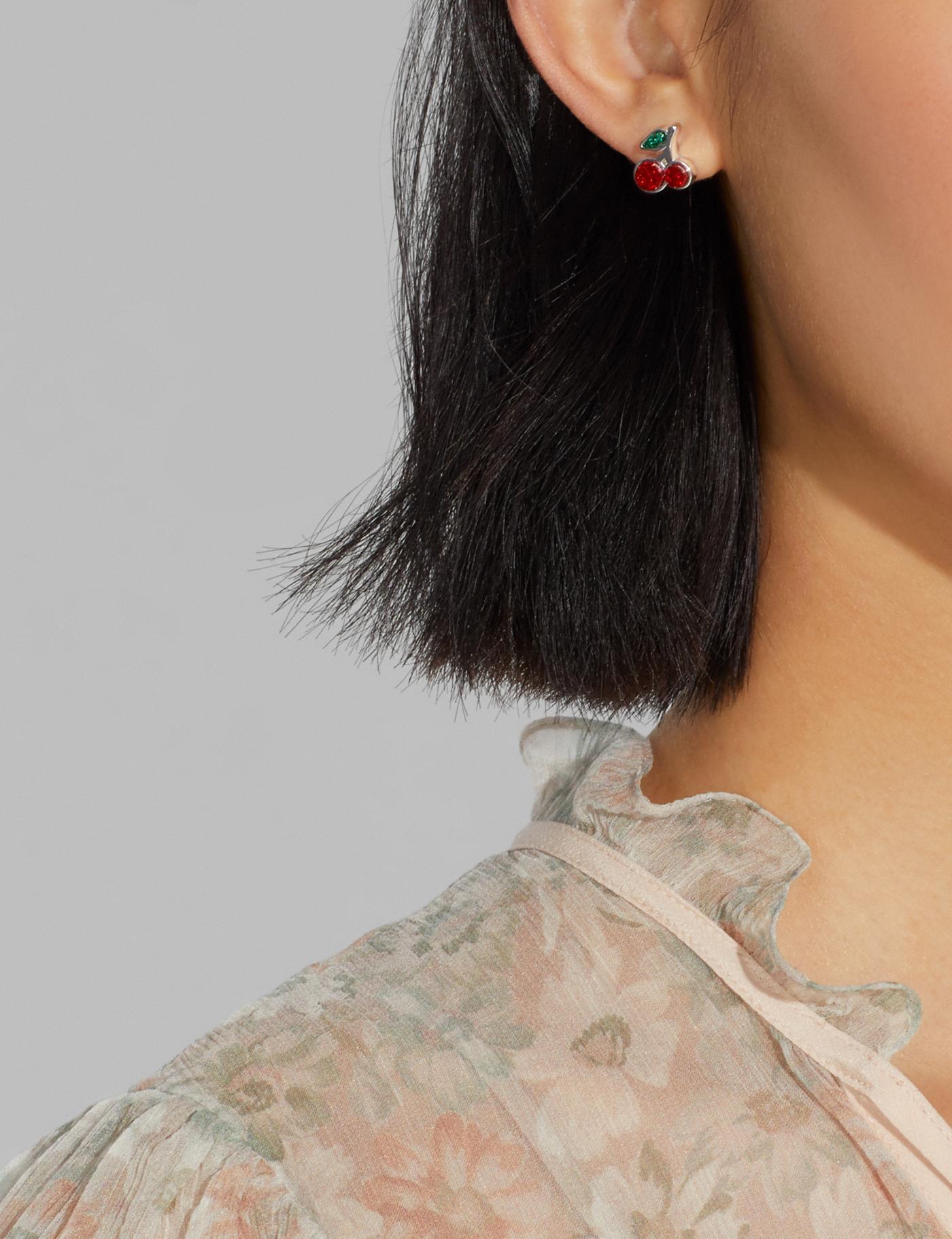 Coach fruit earrings
