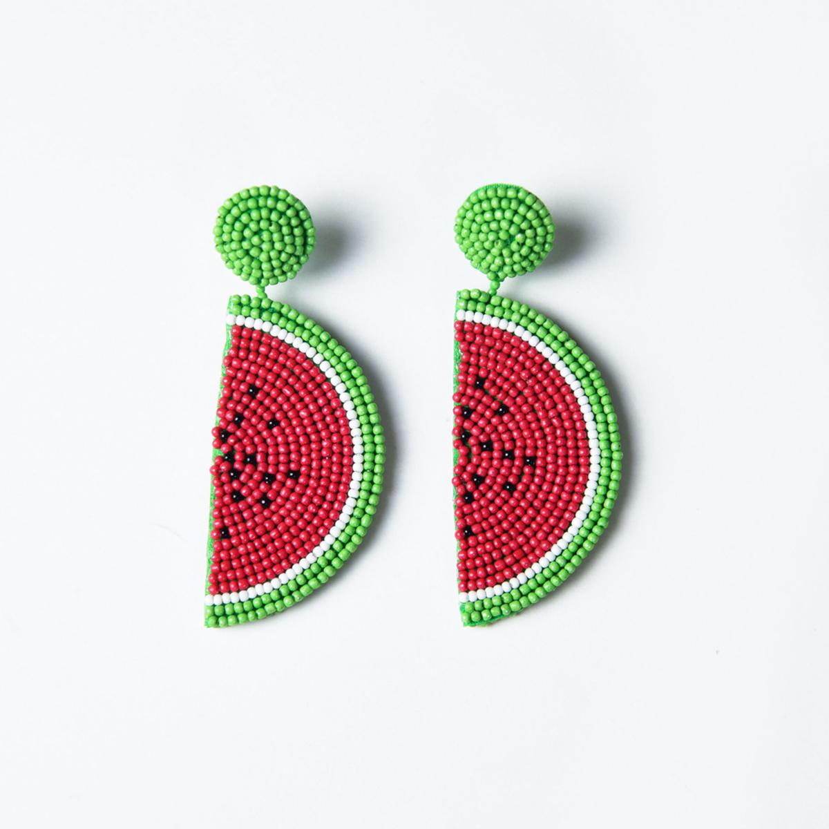 Katie Kime watermelon earrings