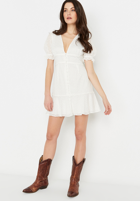 Buffalo David Bitton prairie dress