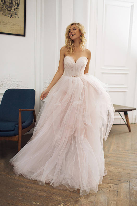 pisces wedding dress