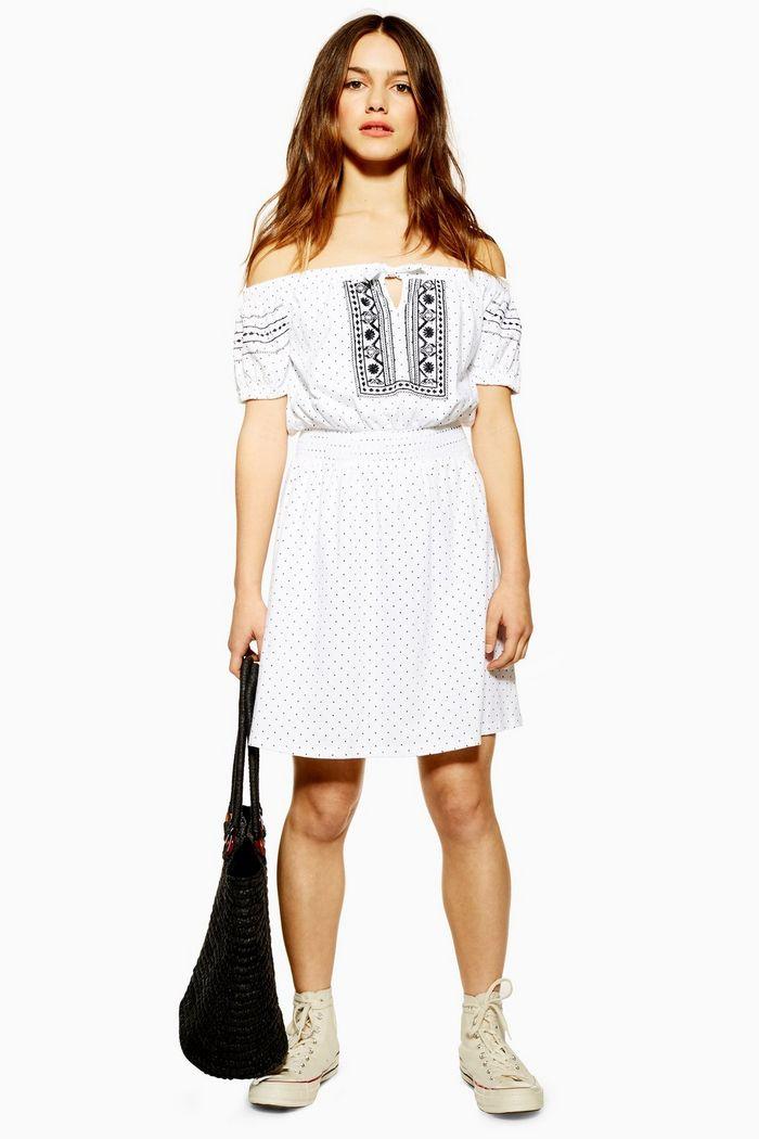 Topshop prairie dress