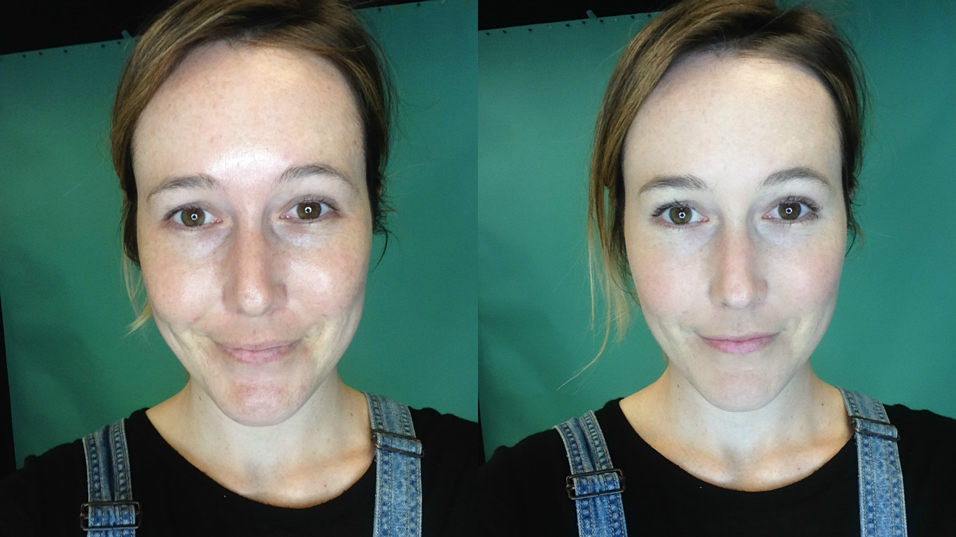 NYXbbcreambeforeafter