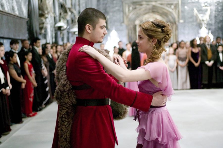 Hermione's Yule Ball dress
